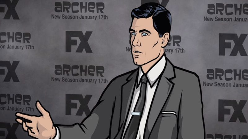 Illustration for article titled Here are some more funny Archer clips