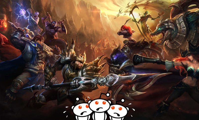Illustration for article titled The League Of Legends Subreddit Is Having A Rough Month