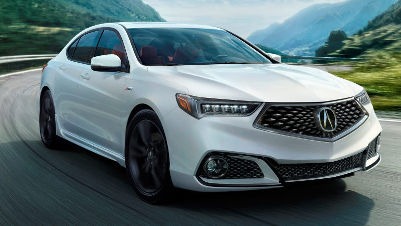 The Acura TLX Brings Back A Mild Performance Trim With A New - 2018 acura tsx front grill