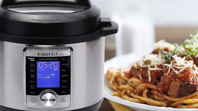 Save $40 On the Apartment-Friendly Instant Pot Mini Ultra, Today Only