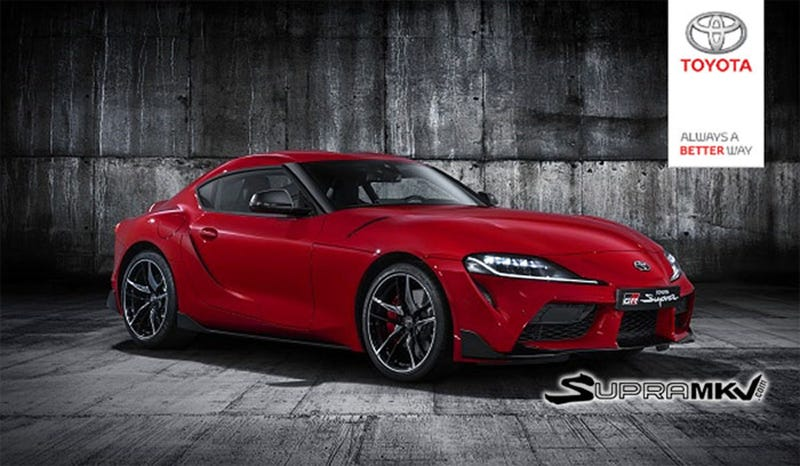 Illustration for article titled 2019 Toyota Supra: This Might Finally Be It?