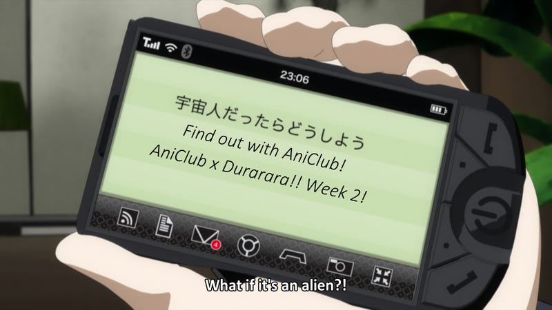 Illustration for article titled AniCluCluClub! Durarara!! Episodes 4-6!!!