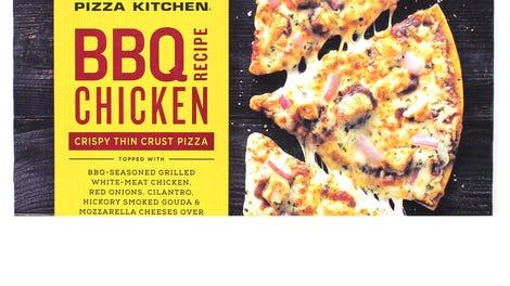 La pizza de pollo BBQ para cocinar en el hogar de California Pizza ...