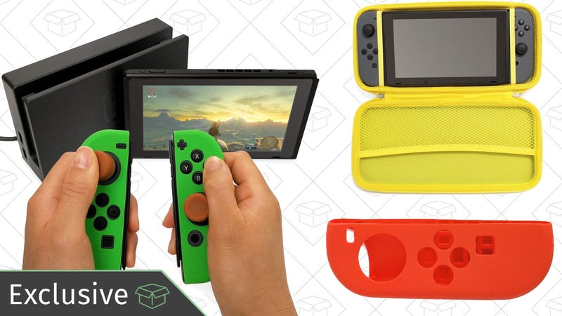 40% off Indigo 7 Switch accessories with code 40KINJASWTCH