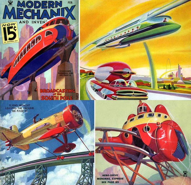 Illustration for article titled We Want Monorails, These Monorails