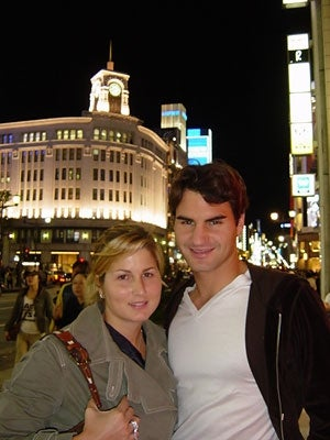 Illustration for article titled Roger Federer And Dowdy-Looking Woman To Become Parents