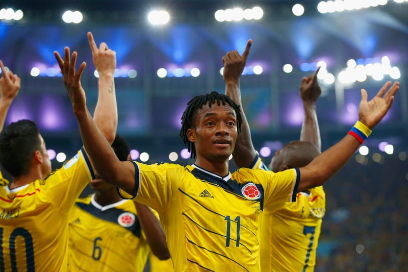 Illustration for article titled Colombia's Juan Cuadrado Is One Of The World Cup's Scariest Players