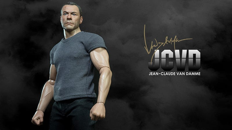 Illustration for article titled Jean-Claude Van Damme Finally Gets the Action Figure He Deserves