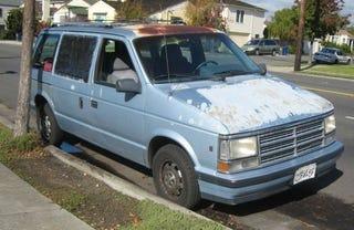 Illustration for article titled 1990 Dodge Caravan LE