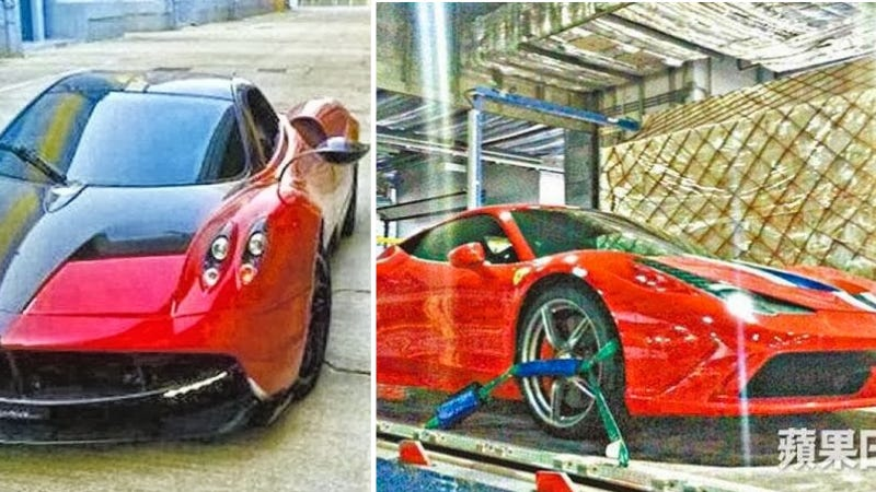 Illustration for article titled Transformers 4 Will Feature The Pagani Huayra And Ferrari 458 Speciale