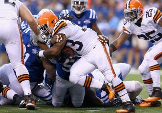 Illustration for article titled Browns Trade Trent Richardson To Colts For First-Round Pick. Say What?