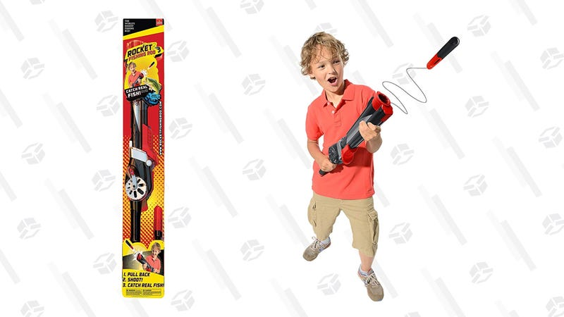 Rocket Fishing Rod | $30 | Amazon