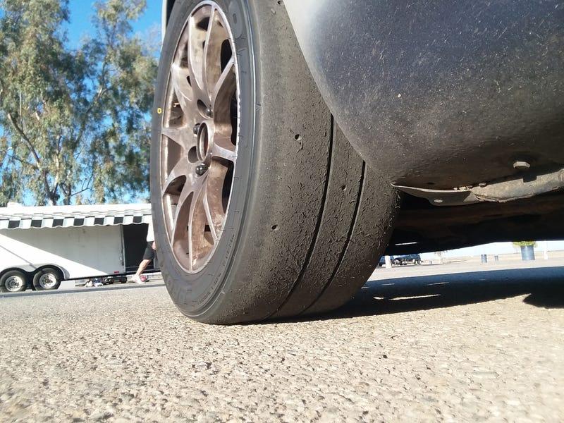 Muhaha proper tires!