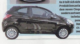 Illustration for article titled 2009 Ford Ka Revealed?