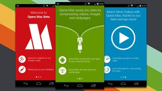 Illustration for article titled Opera Max Leaves Beta, Compresses Data Over Mobile Connections