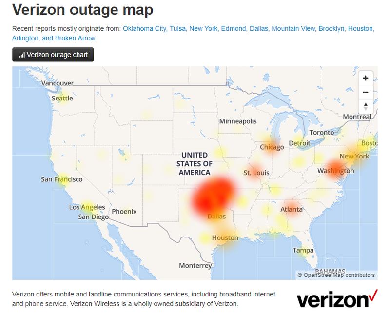Illustration for article titled This Verizon Outage is a total life-ruiner