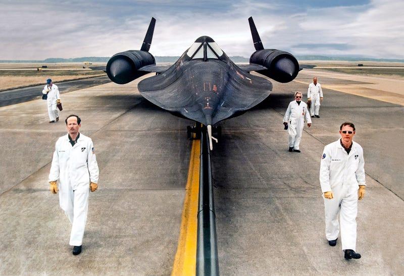 Illustration for article titled El secreto del motor que hizo al SR-71 el avión más rápido del mundo