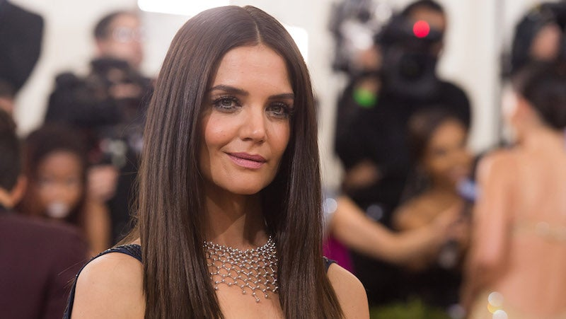 Katie Holmes's daughter has her own style