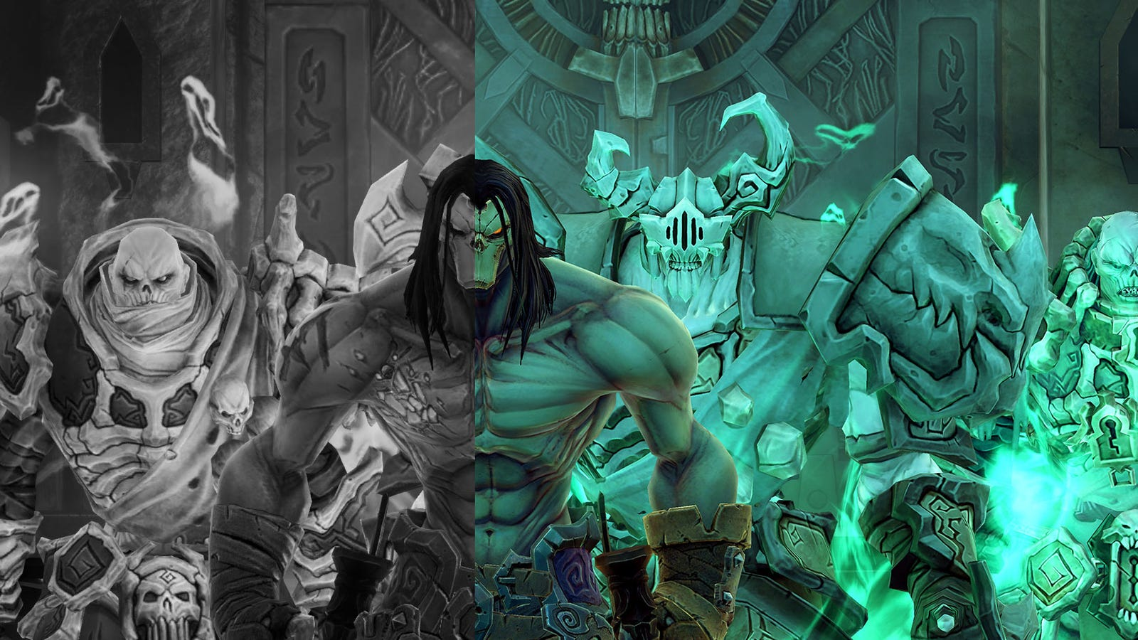 let 39 s compare old darksiders 2 to the 39 deathinitive 39 edition. Black Bedroom Furniture Sets. Home Design Ideas