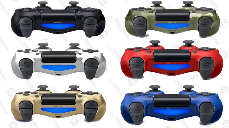 DualShock 4 (Multiple Colors) | $39 | Amazon | More colors for $40 at Walmart, possibly with $10 off for new customers with code ELLEN10