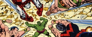 Illustration for article titled Ahead Of Their Movie, The Avengers Have Already Defeated The Hulk
