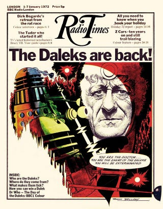 Illustration for article titled Bellamy Dalek cover draws a lot of dosh