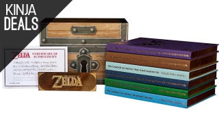Illustration for article titled This Zelda Prima Set Will Be Heavily-Discounted For the Next Few Hours