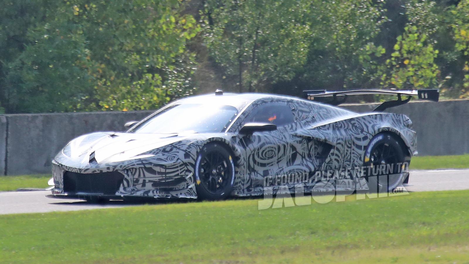 Mid-Engine Corvette C8.R: The Best Look Yet