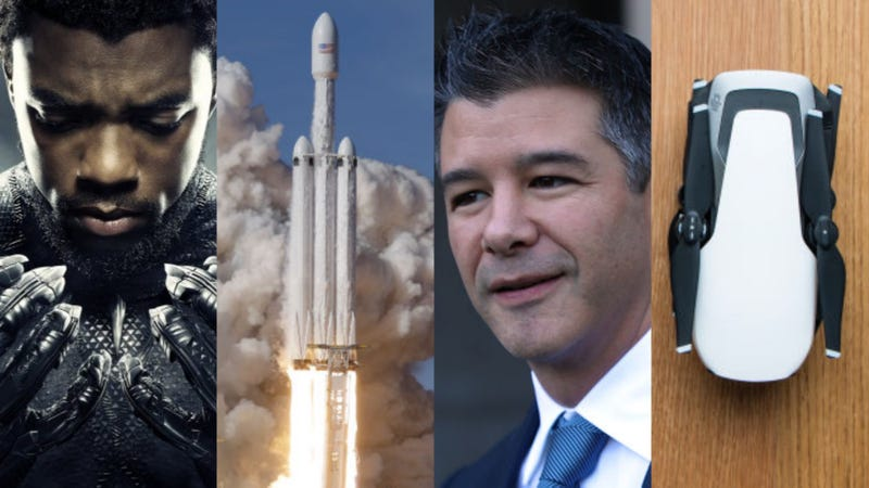 Illustration for article titled Black Panther, SpaceX's Falcon Heavy, and Severed Heads: The Best Gizmodo Stories of the Week