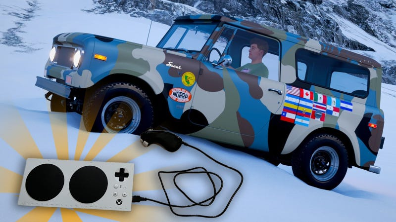 Huge shoutout to Jim for recreating my real-life Scout's livery in the game!
