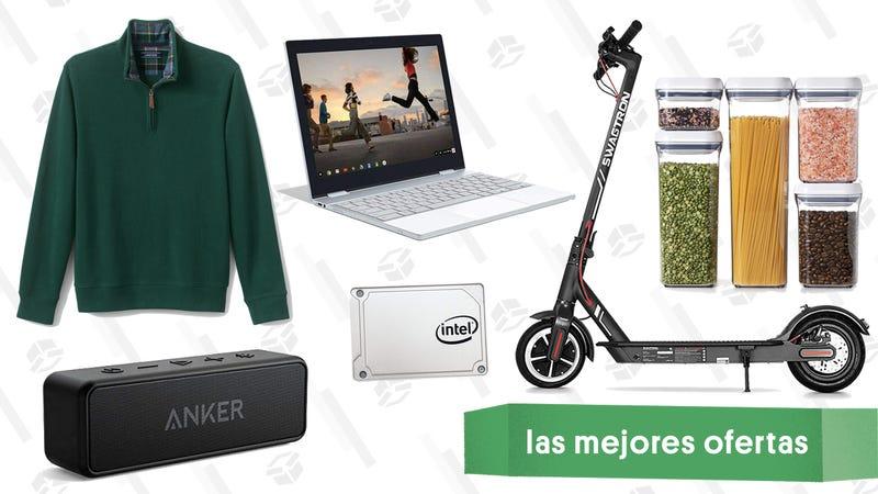 Illustration for article titled Las mejores ofertas de este martes: Pixelbook, accesorios de Instant Pot, una scooter y más