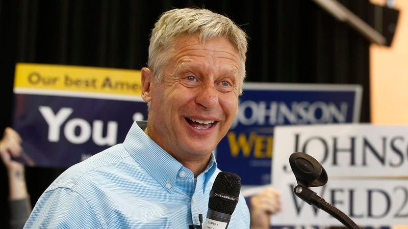 Illustration for article titled Who Is Gary Johnson?