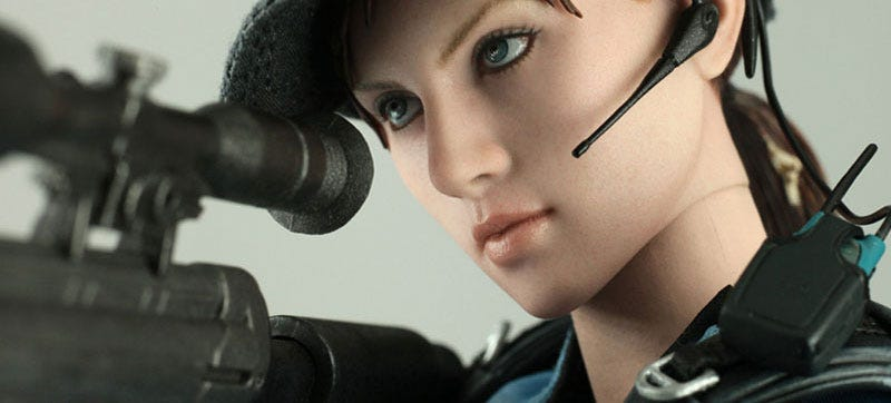 Illustration for article titled Resident Evil's Jill Has Her Eye On You