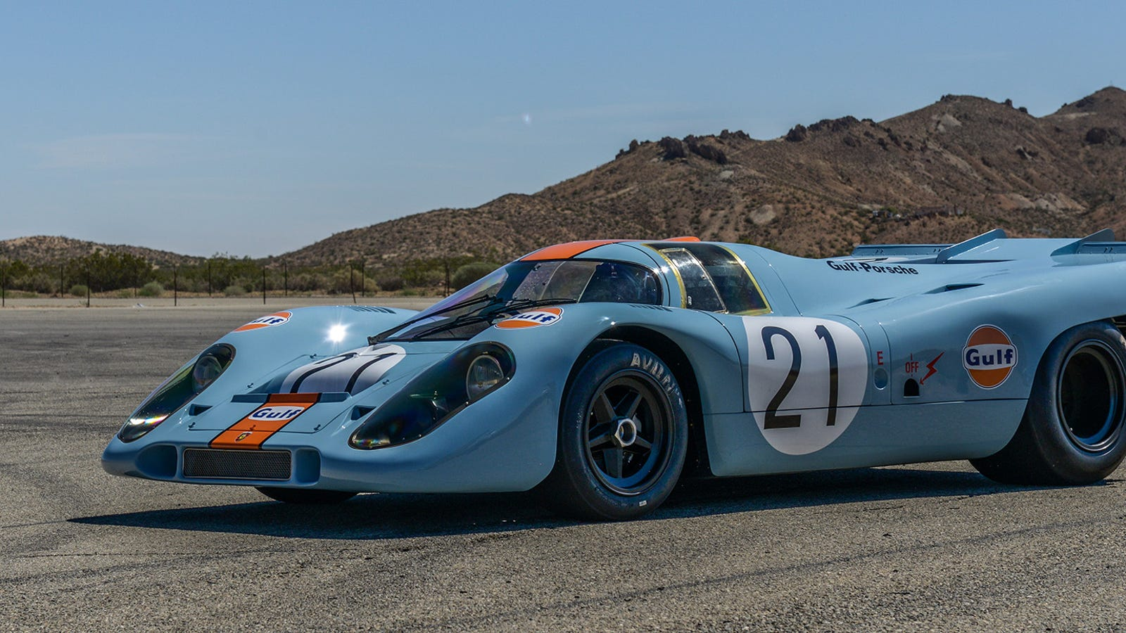 This Gulf Porsche 917k Will Make Rennsport Reunion 5 A