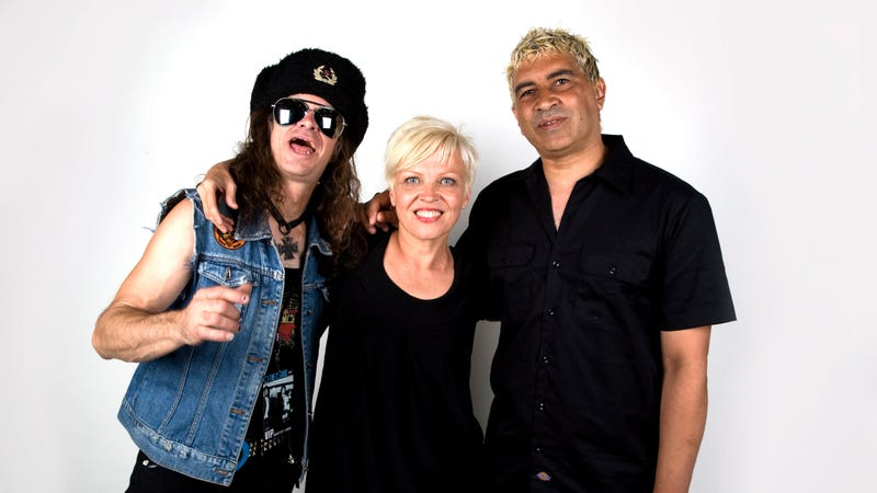 Don Bolles, Lorna Doom, and Pat Smear of The Germs