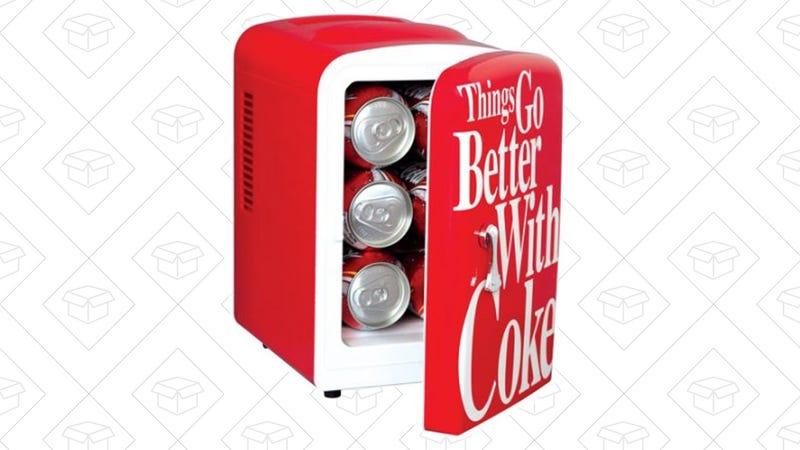 Kühlschrank Cola : Holen sie sich ihren eigenen persönlichen coca cola kühlschrank