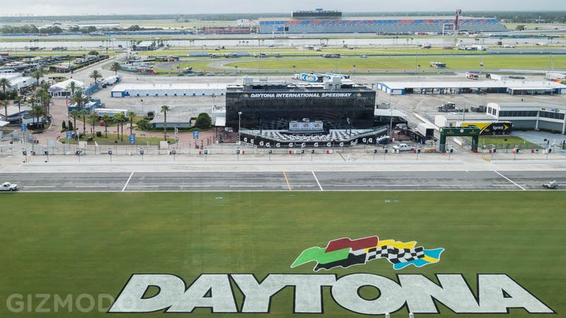 Illustration for article titled Daytona Rising: From Aging Track to Hi-Tech Motorsports Mecca