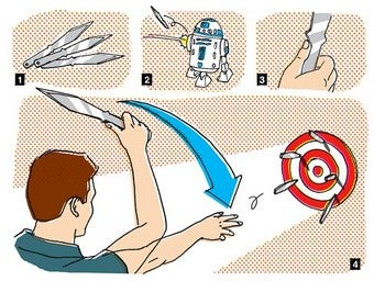 Illustration for article titled Learn to Throw a Knife