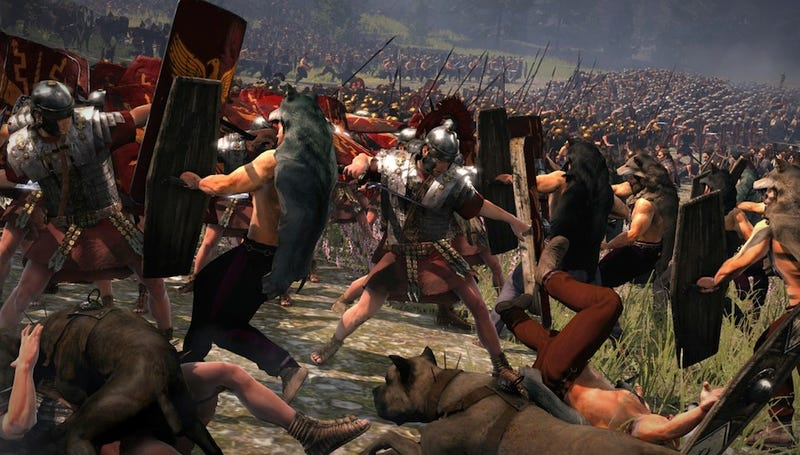 Illustration for article titled Total War: Rome II Is Gonna Wage War On Your Hard Drive