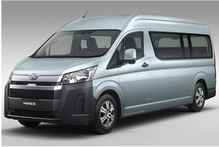 Illustration for article titled new Toyota HiAce van/Commuter bus