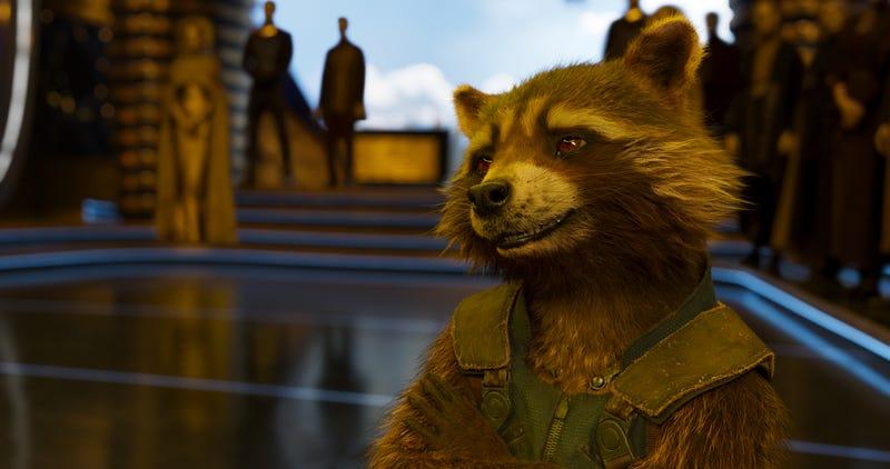 Illustration for article titled Nunca verás igual a Rocket Raccoon después de ver cómo grabaron sus escenas en Avengers: Endgame