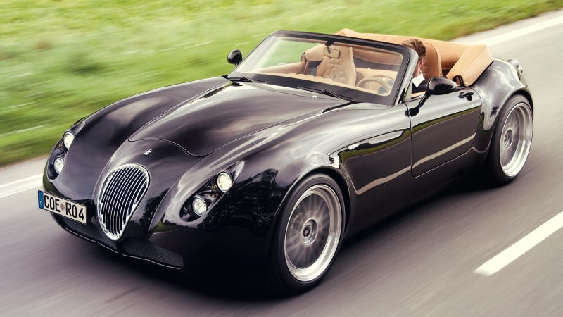 bizarro german sports car maker wiesmann files for bankruptcy. Black Bedroom Furniture Sets. Home Design Ideas