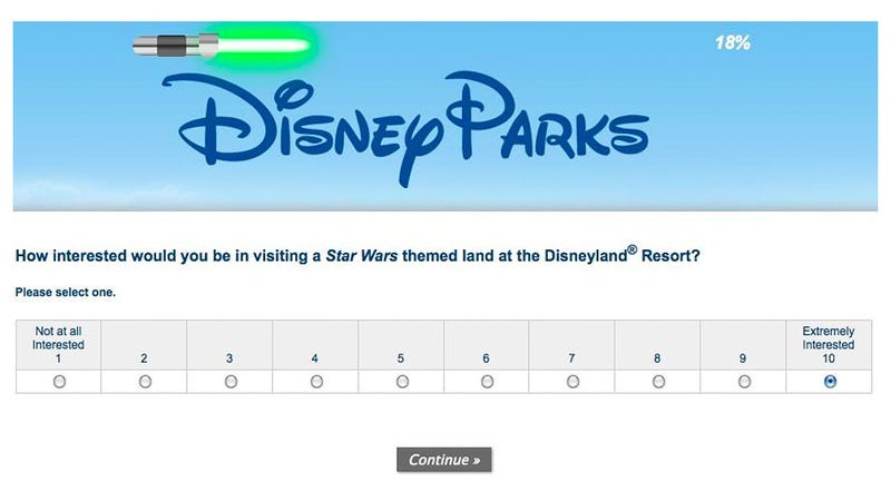 Illustration for article titled Is Disneyland Getting a Star Wars Land?