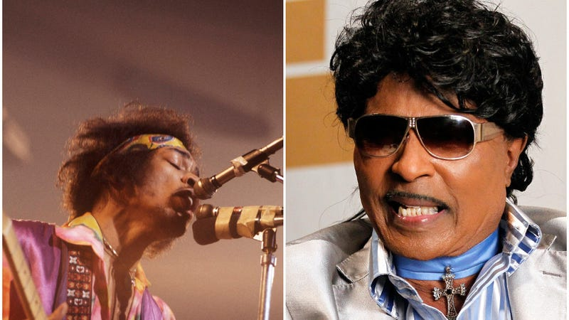 Illustration for article titled It's 3 p.m., let's watch Little Richard freak out about Jimi Hendrix's greatness