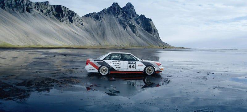 Illustration for article titled Remembering Audi's Championship-Winning V8 Quattro DTM Car