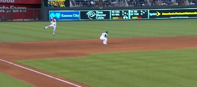 Alcides Escobar And Andrelton Simmons Had A Shortstop Duel