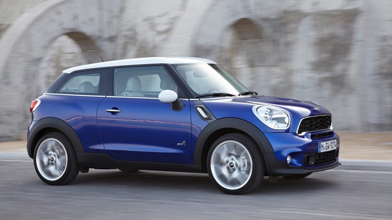 The Paceman Is Mini S Tall Two Door Countryman