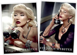 Illustration for article titled Christina Aguilera: If You Are Going To Shill Overpriced Jewelry, Do It Like This
