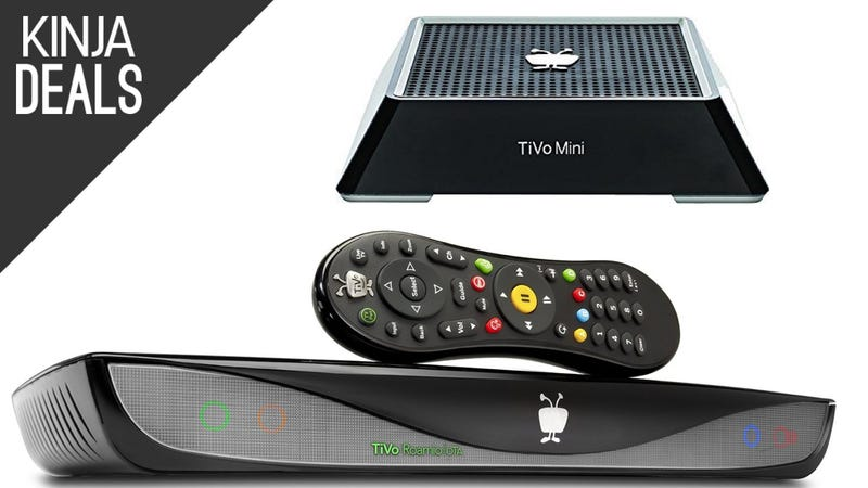 Illustration for article titled Cord Cutters Will Love Today's TiVo Deals