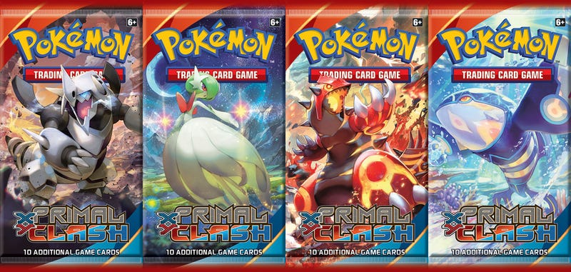 Illustration for article titled The Pokémon Trading Card Game Goes Primal In February